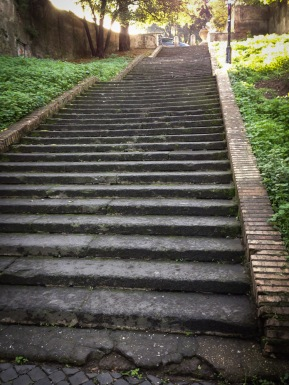 Steep. 69 steps to be exact.